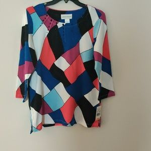 Alfred Dunner Blouse NWT